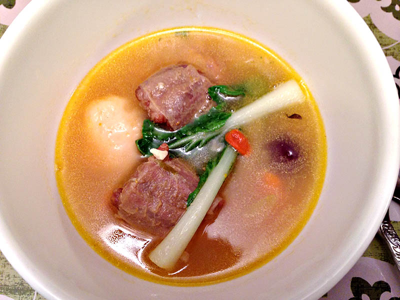Local fave oxtail soup